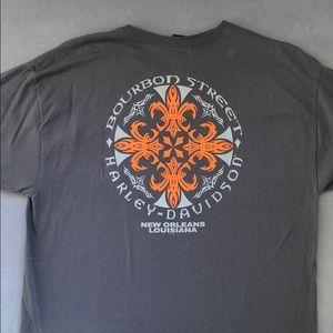 Harley Davidson men's logo tee
